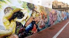 """""""Poema del Atlántico"""" Graffiti hip-hop shop/Néstor (febrero 2014)"""