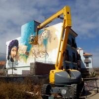 El niño de las pinturas - Mueca 2014, Puerto de La Cruz, Tenerife (5 de 6)
