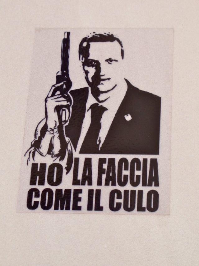 """Il sindaco sceriffo (""""Ho la faccia come il culo"""")"""