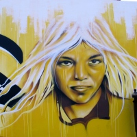 SUGLAS (nuevo mural en el I.E.S. Pablo Montesino)