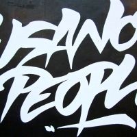 Gusanos People (sticker)