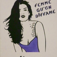 25N, Femme qu'on diffame (Miss.Tic)